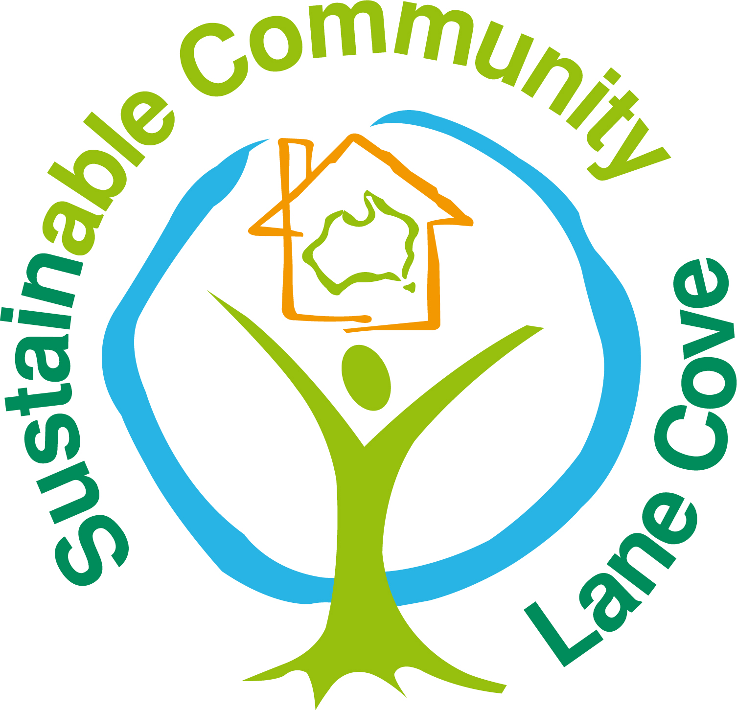 Sustainability Logo - Lane Cove Sustainable Community - to be used from October 2008 - Colour JPEG(2).JPG